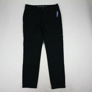 Old Navy Women's Skinny Pants Size 6 Tall Black